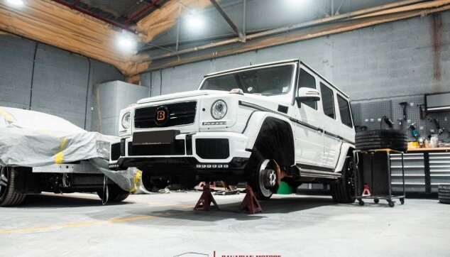 Mercedes G-Class AMG ליפט